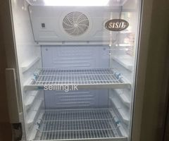 Sisil Glass Front Bottle Fridge