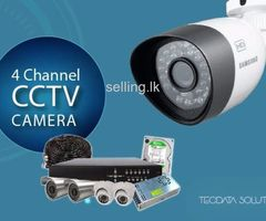 2MP  CCTV 4CH Camera Systems Installation