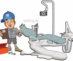 Dental chaire and equipment servicing and repaire