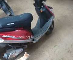 Tvs scooty stric