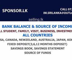 FINANCIAL SPONSORSHIPS