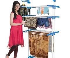 Three Layer Clothes Rack