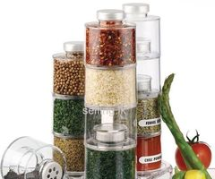 12 Pcs Spice Tower Carousel