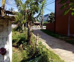 Land sale with house
