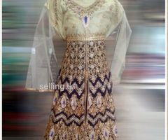 Indian embroided stone worked rich wedding wear Model-Lehenga