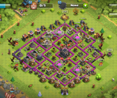 Clash of clans th 9 base