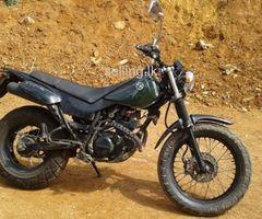 TW 200cc 2016 motorbike for sale