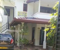 Upstair House for rent in Piliyandala