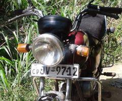 Hero honda motorbike