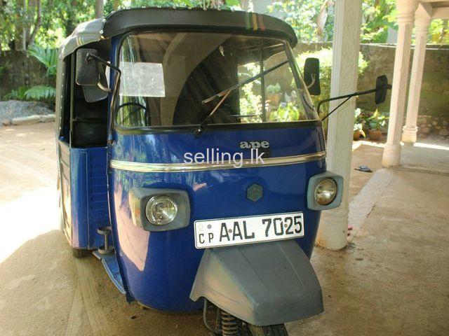 piaggio ape hasalaka - selling.lk - cars, property, electronics