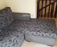 Small table and corner sofa 4 seater