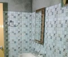All tile work and all bathroom work