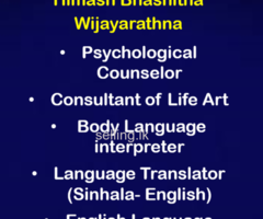 Psychotherapy and Psychological Counselling