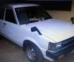 Toyota, Corolla, DX Wagon, KE 74, 1986