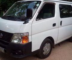 Nissan Caravan e 25