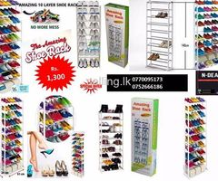 Amazing Shoe Rack (10 layer shoe rack) As seen on TV
