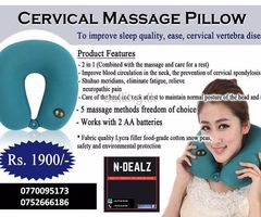 Cervical Vibration Massage Pillow