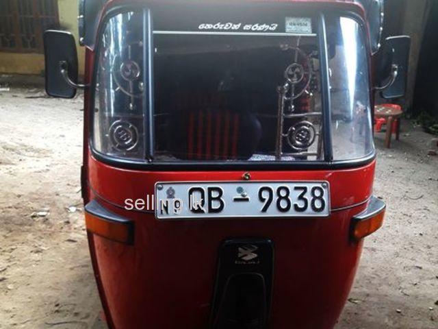 qb 9838 threeweeler for sale vavuniya selling lk cars bajaj three wheel service manual bajaj 3 wheeler service manual