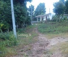 Land for sale in Peradeniya - Agunawela Junction - piligalla Rd