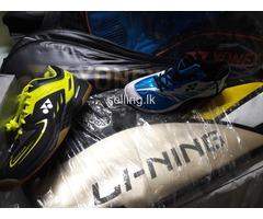 Badminton Shoes/Rackets/Racket Badgs