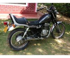Honda CBX 125 custom