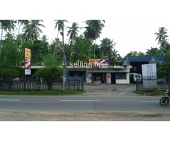 motor spare parts shop & service station.
