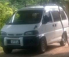 Mitsubishi l400 space gear van.