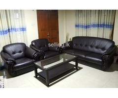 Damro Sofa 3+1+1 with Coffe Table