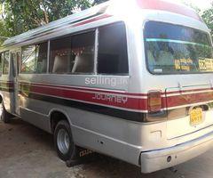 isuzu journey  bus for sale