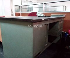 Used metal Office Table