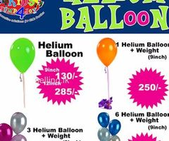 Gas Balloon & Balloon Decorations By KIDS JUMP 4 JOY