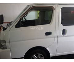 Nissan e25 van for sale