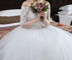 Lace Bridal Frock