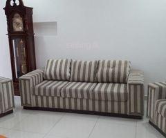 Mahogany sofa set 3+1+1