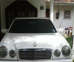 w210 Mercedes-Benz  1997 registered  in 1999