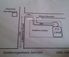 Land in Kamburugamuwa,Labima.