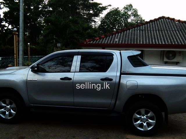 HILUX DOUBLE CAB FOR RENT