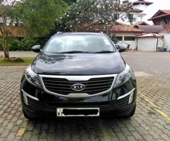 Kia Sportage jeep For rent