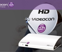 Videocon d2h 45+ HD Satellite Dish tv Services in Colombo & Gampaha Srilanka