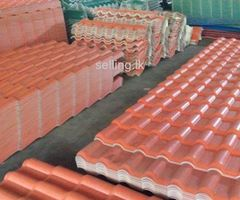 Roofing sheets and Ceiling sheets.