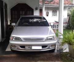 Toyota carina Ti My Road  1999 registered in  2004 Diesel