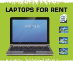 Laptops fro Rent - Personal & Corporate Use