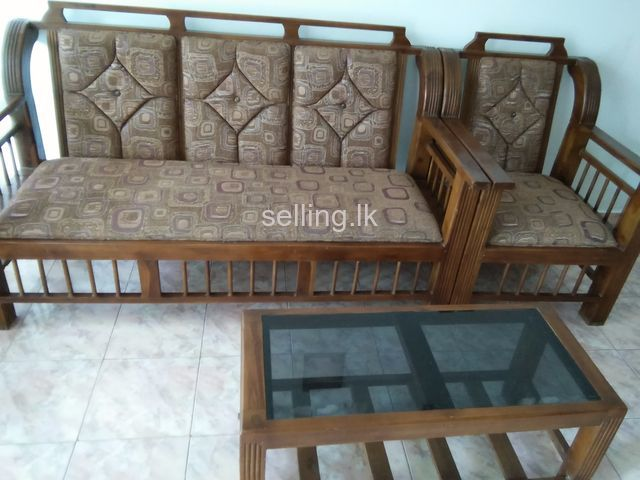 Wooden Sofa Set Nugegoda Selling Lk In Sri Lanka