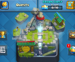 Clash Royale level 10 account for sale!