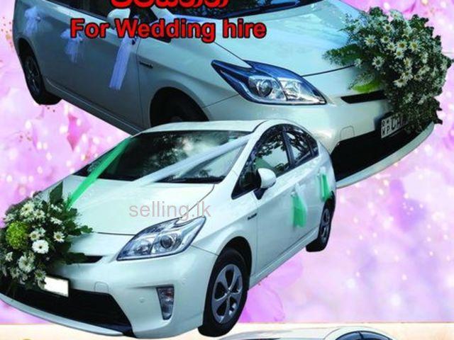 Prius Wedding Car