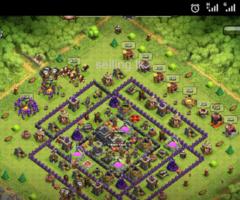 CoC 9 maxx base