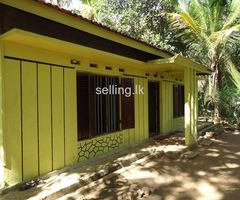 Land for sale with a house in Ampara