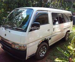 Nissan caravan 27