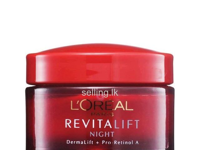 l'oreal Paris Revitalift Night Cream Colombo 08 - selling ...