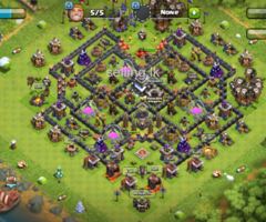 clash of clans Th 9 max base